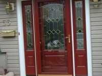 beige entry door