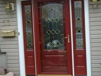 beige entry door