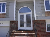 decorative glass enty door