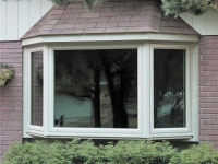 white exterior bay window operating casement sidevent carteret nj