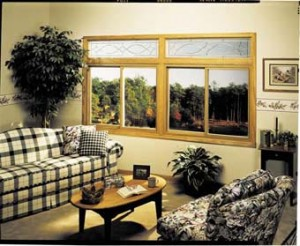 golden oak twin two lite sliding windows with decorative transoms edison nj
