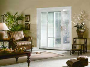interior sliding patio door