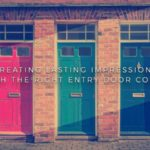 Creating Lasting Impressions with the Right Entry Door Color