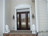 decorative enty door