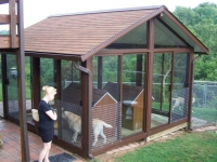 redwood-stain-safety-enclosure-east-brunswick-nj